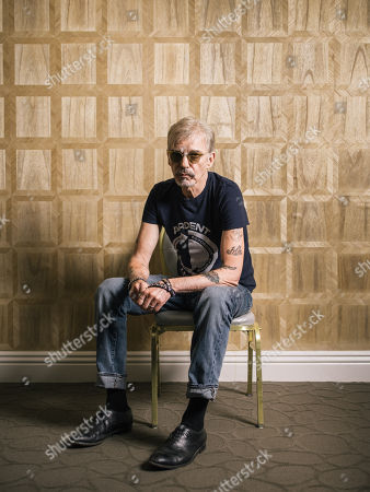 """Actor Billy Bob Thornton poses for a portrait while promoting his upcoming Amazon series """"Goliath"""" at The London hotel in Los Angeles. Thornton stars with William Hurt as former law-firm partners on the opposite sides of a major trial"""