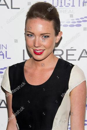 "Stock Photo of Kelsey Falter attends the LÃ•OrŽal USA Women in Digital Ã'NEXTÃ"" Generation Awards Ceremony on in New York"