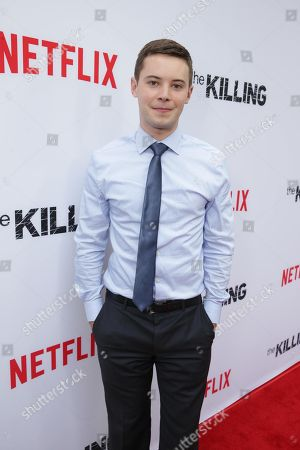 "Tyler Ross seen at Netflix's ""The Killing"" Season 4 Premiere at the Arclight Hollywood, in Hollywood, CA"