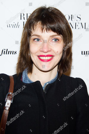 """Axelle Ropert attends the Rendez-Vous with French Cinema opening night screening of """"On My Way"""" on in New York"""