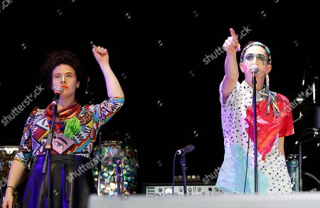 Editorial picture of Tune Yards In Concert - , Atlanta, USA - 2 May 2014