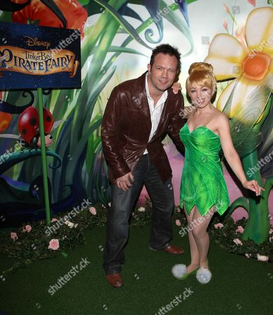 Stock Picture of Jamie Rickers attends a special VIP screening of of the new Disney animation Tinker Bell and the Pirate Fairy. . Opening in cinemas on February 14th. credit: Jon Furniss