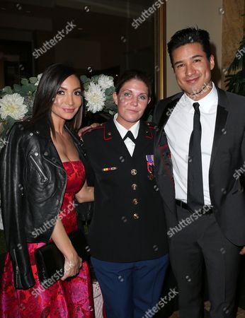 Courtney Mazza, Megan Leavey, Mario Lopez