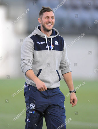 Mark Robertson - Scotland assistant strength & conditioning coach.