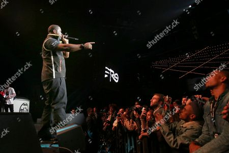 Editorial picture of G-Shock 35th Anniversary, New York, USA - 09 Nov 2017