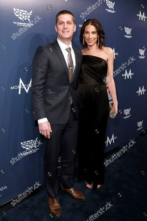 Honorees Rob Thomas, Marisol Maldonado. Honorees Rob Thomas and Marisol Maldonado walk the red carpet at The Humane Society of the United States To the Rescue! New York Gala: Saving Animal Lives on in New York City. To the Rescue! is a benefit in celebration of the life-saving work of its animal rescue efforts across the nation and around the world. In its eighth year, the event honored Rob Thomas and Marisol Maldonado and their Sidewalk Angels Foundation, and Moroccanoil. The evening featured a performance by Rob Thomas