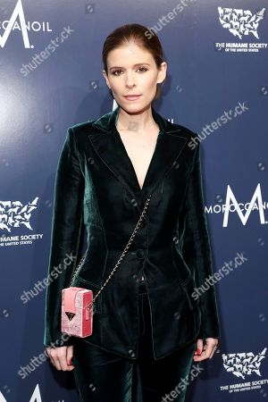 Kate Mara walks the red carpet at The Humane Society of the United States To the Rescue! New York Gala: Saving Animal Lives on in New York City. To the Rescue! is a benefit in celebration of the life-saving work of its animal rescue efforts across the nation and around the world. In its eighth year, the event honored Rob Thomas and Marisol Maldonado and their Sidewalk Angels Foundation, and Moroccanoil. The evening featured a performance by Rob Thomas
