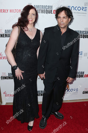 Stock Picture of Richard Grieco and wife
