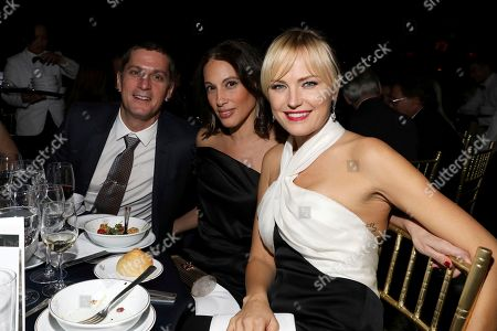 Rob Thomas, Marisol Maldonado, Malin Akerman. Honorees Rob Thomas, and Marisol Maldonado sit in the audience with Malin Akerman at The Humane Society of the United States To the Rescue! New York Gala: Saving Animal Lives on in New York City. To the Rescue! is a benefit in celebration of the life-saving work of its animal rescue efforts across the nation and around the world. In its eighth year, the event honored Rob Thomas and Marisol Maldonado and their Sidewalk Angels Foundation, and Moroccanoil. The evening featured a performance by Rob Thomas