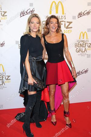 Alexandra Swarovski and Fiona Swarovski