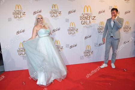 Lucas Cordalis and Ehefrau Daniela Katzenberger, .