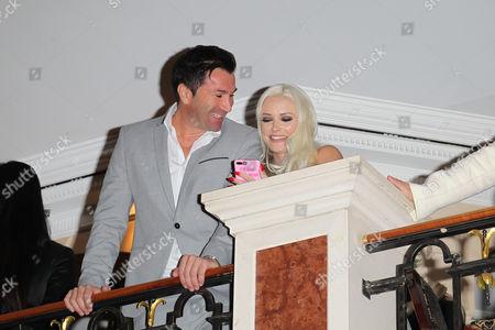 Lucas Cordalis and Ehefrau Daniela Katzenberger, . Mc.Donalds Benefiz Gala 2016 im Hotel Bayerischer Hof in Muenchen am 10.11.2017 / Franco.Gulotta