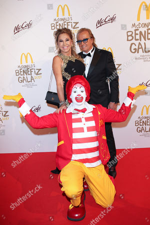 Editorial photo of McDonald's Charity Event, Munich, Germany - 10 Nov 2017