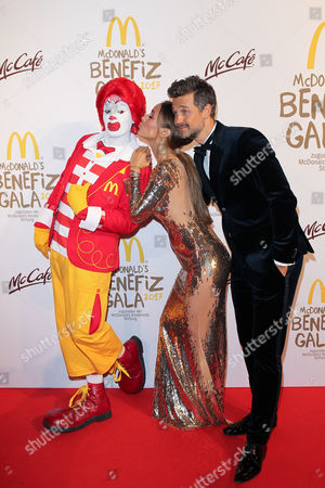 Editorial picture of McDonald's Charity Event, Munich, Germany - 10 Nov 2017