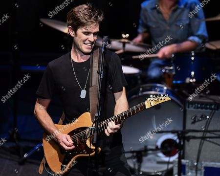 Editorial photo of Kyle Riabko in concert, The Wallis Annenberg Center for the Performing Arts, Los Angeles, USA - 10 Nov 2017