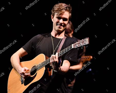 Editorial picture of Kyle Riabko in concert, The Wallis Annenberg Center for the Performing Arts, Los Angeles, USA - 10 Nov 2017