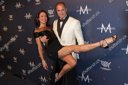 Stock Picture of Cristen Chin and Nigel Barker