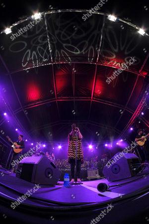 Editorial image of Womad International Music festival in Las Palmas, Las Palmas De Gran Canaria, Spain - 11 Nov 2017