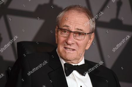 Owen Roizman arrives at the 9th annual Governors Awards at the Dolby Ballroom, in Los Angeles
