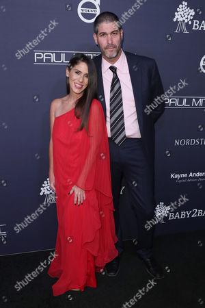 Stock Image of Soleil Moon Frye and husband Jason Goldberg
