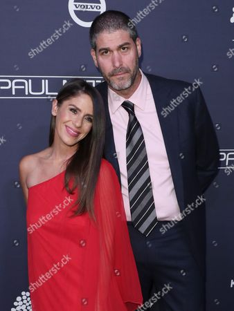 Stock Photo of Soleil Moon Frye and husband Jason Goldberg