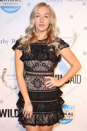 "Laura Linda Bradley arrives at the ""An Evening with WildAid"" event at The Beverly Wilshire, in Beverly Hills, Calif"