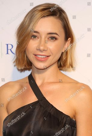 "Olesya Rulin arrives at the ""An Evening with WildAid"" event at The Beverly Wilshire, in Beverly Hills, Calif"