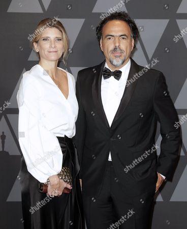 Alejandro Inarritu and Maria Eladia Hagerman
