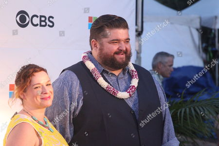 Jorge Garcia on the red carpet at the Sunset on the Beach event for season 8 of the CBS show Hawaii Five-0 on Waikiki Beach in Honolulu, Hawaii - Michael Sullivan/CSM