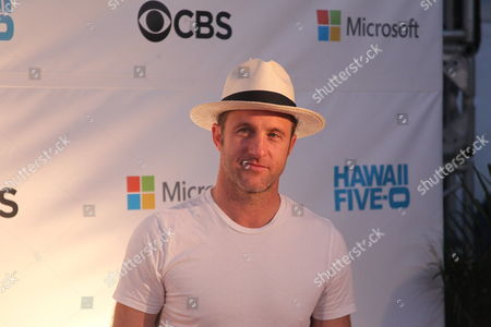 Actor Scott Caan at the Sunset on the Beach event for season 8 of the CBS show Hawaii Five-0 on Waikiki Beach in Honolulu, Hawaii - Michael Sullivan/CSM