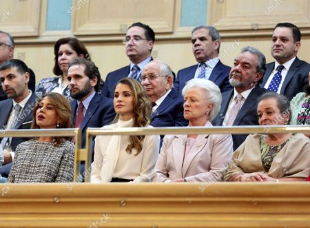 Queen Rania of Jordan and Princess Muna al-Hussein