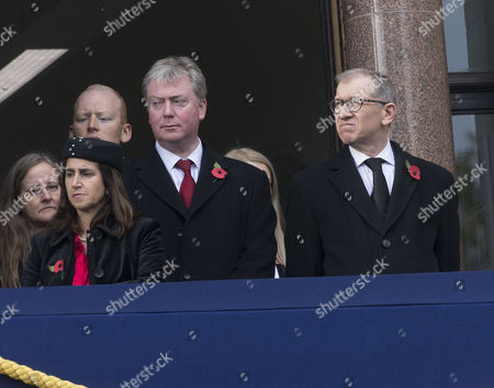Philip May husband of Prime Minister Theresa May and Marina Wheeler wife of Boris Johnson.