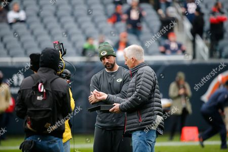 Editorial photo of Packers Bears Football, Chicago, USA - 12 Nov 2017