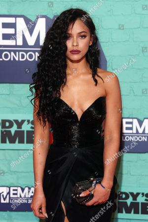 Editorial picture of 24th MTV Europe Music Awards, Arrivals, SSE Arena Wembley, London, UK - 12 Nov 2017