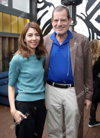 """Sofia Coppola, Howard Rosenman. Writer/director Sofia Coppola and Howard Rosenman seen at """"The Beguiled"""" special screening hosted by Quentin Tarantino at Estrella, in West Hollywood, Calif"""