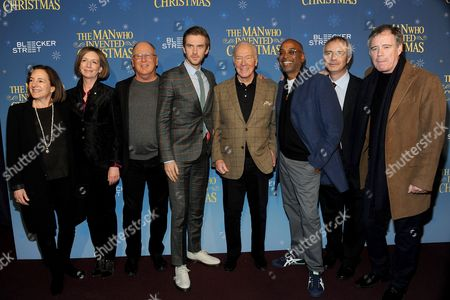 Editorial image of 'The Man Who Invented Christmas' film premiere, New York, USA - 12 Nov 2017