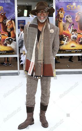 """Jonathan Slocumb arrives at the LA Premiere of """"The Star"""" at The Regency Village Theatre, in Los Angeles"""