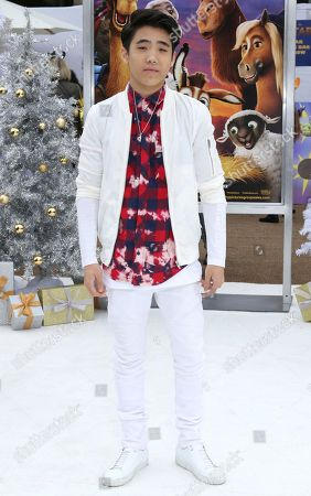 """Lance Lim arrives at the LA Premiere of """"The Star"""" at The Regency Village Theatre, in Los Angeles"""