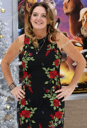 """Producer Jennifer Magee-Cook arrives at the LA Premiere of """"The Star"""" at The Regency Village Theatre, in Los Angeles"""
