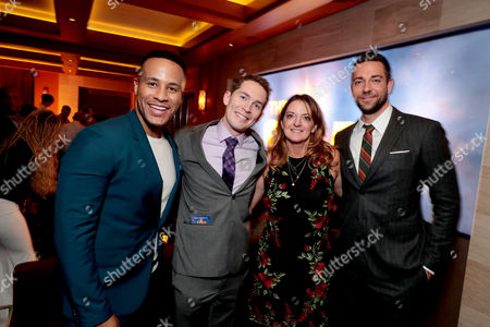 DeVon Franklin, Executive Producer, Timothy Reckart, Director, Jennifer Magee-Cook, Co-Producer, Zachary Levi