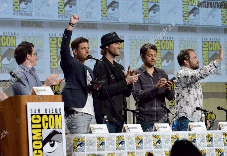 """Editorial image of 2014 Comic-Con - """"Supernatural"""" Special Video Presentation And Q and A, San Diego, USA - 27 Jul 2014"""
