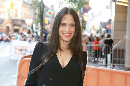 """Writer Amy Koppelman attends a premiere for """"I Smile Back"""" on day 7 of the Toronto International Film Festival at the Princess of Wales theatre, in Toronto"""