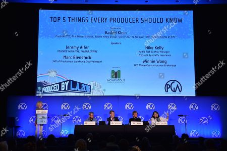 Editorial image of 8th Annual Produced By Conference presented by Producers Guild of America - Day 2, Los Angeles, USA - 5 Jun 2016