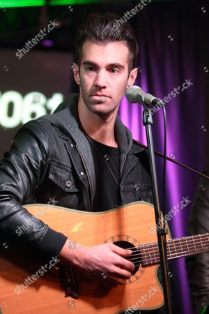 Zachary Barnett of the indie rock band American Authors visits the Mix 106 Performance Theater, in Philadelphia