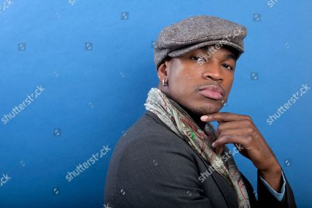 This photo shows R&B musician and actor Shaffer Chimere Smith, better known by his stage name Ne-Yo, posing for a portrait in New York