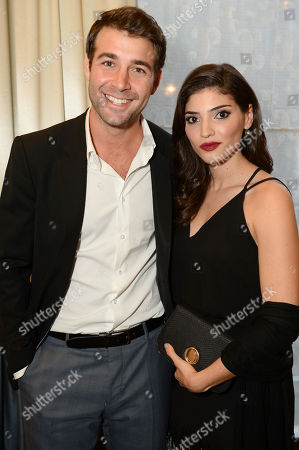 EXCLUSIVE - James Wolk and Amanda Setton attend the 2014 Television Academy Hall of Fame, at the Beverly Wilshire in Beverly Hills, Calif