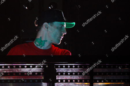 Joel Thomas Zimmerman, better known by his stage name deadmau5 performs at the Bonnaroo Music and Arts Festival on in Manchester, Tenn