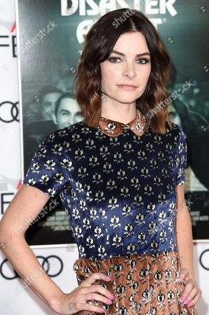 """Kelly Oxford attends the centerpiece gala presentation of """"The Disaster Artistl"""" during the 2017 AFI Fest at the TCL Chinese Theatre, in Los Angeles"""