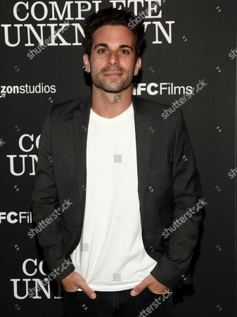 "Stock Photo of Actor Frank De Julio attends the premiere of ""Complete Unknown"" at Metrograph, in New York"