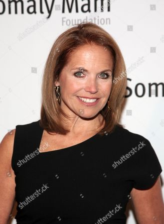 Television journalist Katie Couric attends the Somaly Mam Foundation Gala, in New York